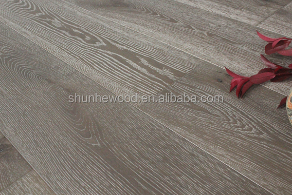 Shunyang Carton exhibition popular Oak engineered wood flooirng on hot selling --SY 0264