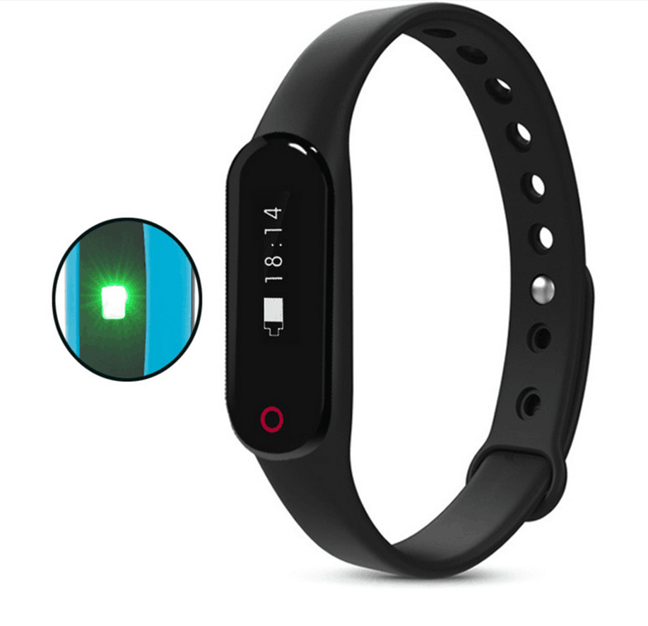 Smart Wristband with Continuous Heart Rate Monitoring and Activity Fitness Tracker,Bluetooth Sport Smart Bracelet Watch H2