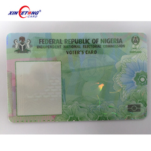 OEM chip Blank credit cards with magnetic stripe Blank visa card with smart chip