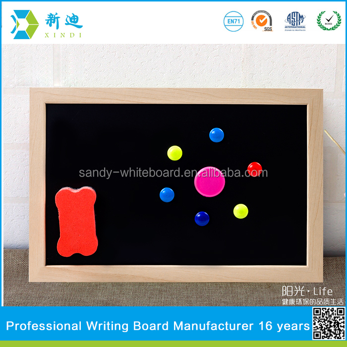 Wood Frame Chalk Board For Advertising Promotion