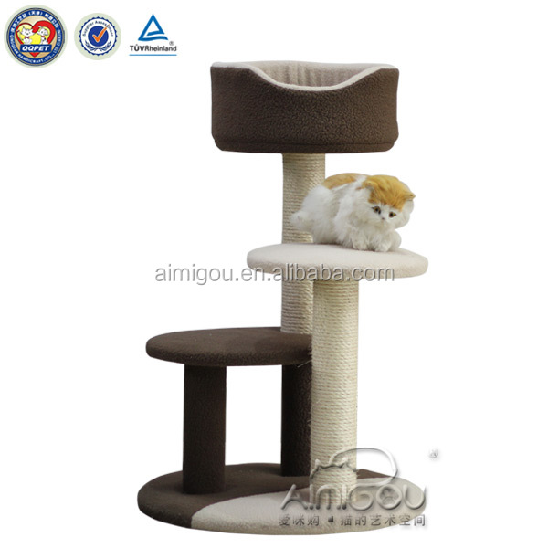 16 years professional factory luxury high mansion cat tree and scratching cat tree for sales