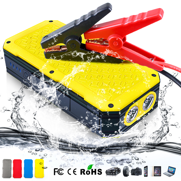 New product Waterproof function car jump starter with Type-C port