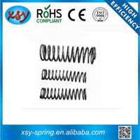 Chrome plated 65Mn material coil spring cushions for toy