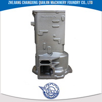 Machinery Equipment Parts wdt series oil machine bridge shell valve body casting
