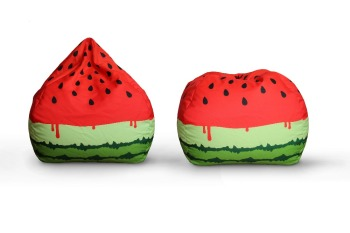 Home Decor watermelon Tear Drop bean bag chair