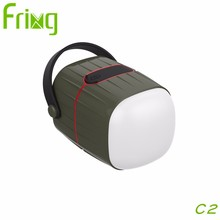 High quality 3-in-1 solar camping lantern power bank with speaker for mobile phone charging