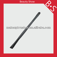 hot sale new black double end make up brush,shimmer body double end makeup brush,free samples