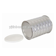 cmyk printing easy open metalic tins food can for 900g decorative milk cans