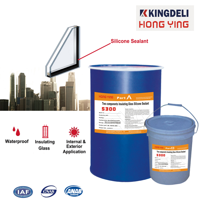 Curtain Wall Silicone Sealant two component sealant for double glass
