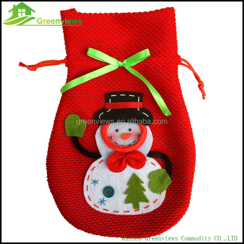 Printed Drawstring Candy <strong>Christmas</strong> Gift Bag candy bag <strong>christmas</strong>