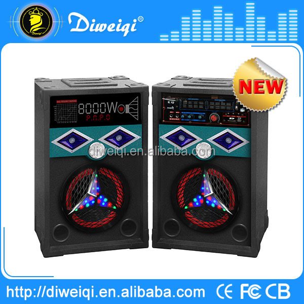 10 inch portable dj system active pa speaker