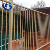 Super Quality Pool Safety Compliant Aluminum Steel Powder Coated Pool Fence