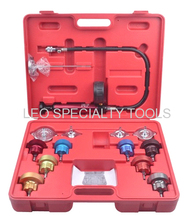 Engine Testing Tools Water Tank Leak Detector Radiator Pressure Tester and Vacuum Type Cooling System Kit