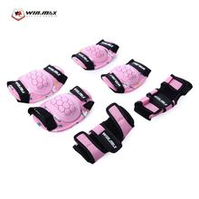 WINMAX 6pcs / Set Children Protective Gear Wrist Hand Elbow Knee Pad for Scooter Skating Cycling Sports Accessories
