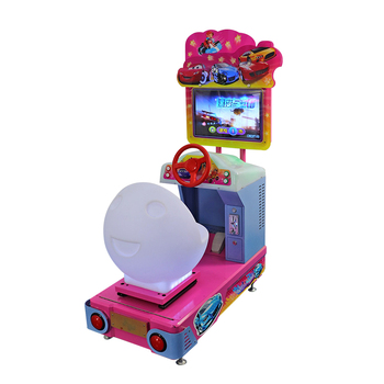 YDA simulator racing car games 3D fly car coin operated arcade machine for amusement park