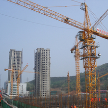 Construction small mini tower crane specification for sale