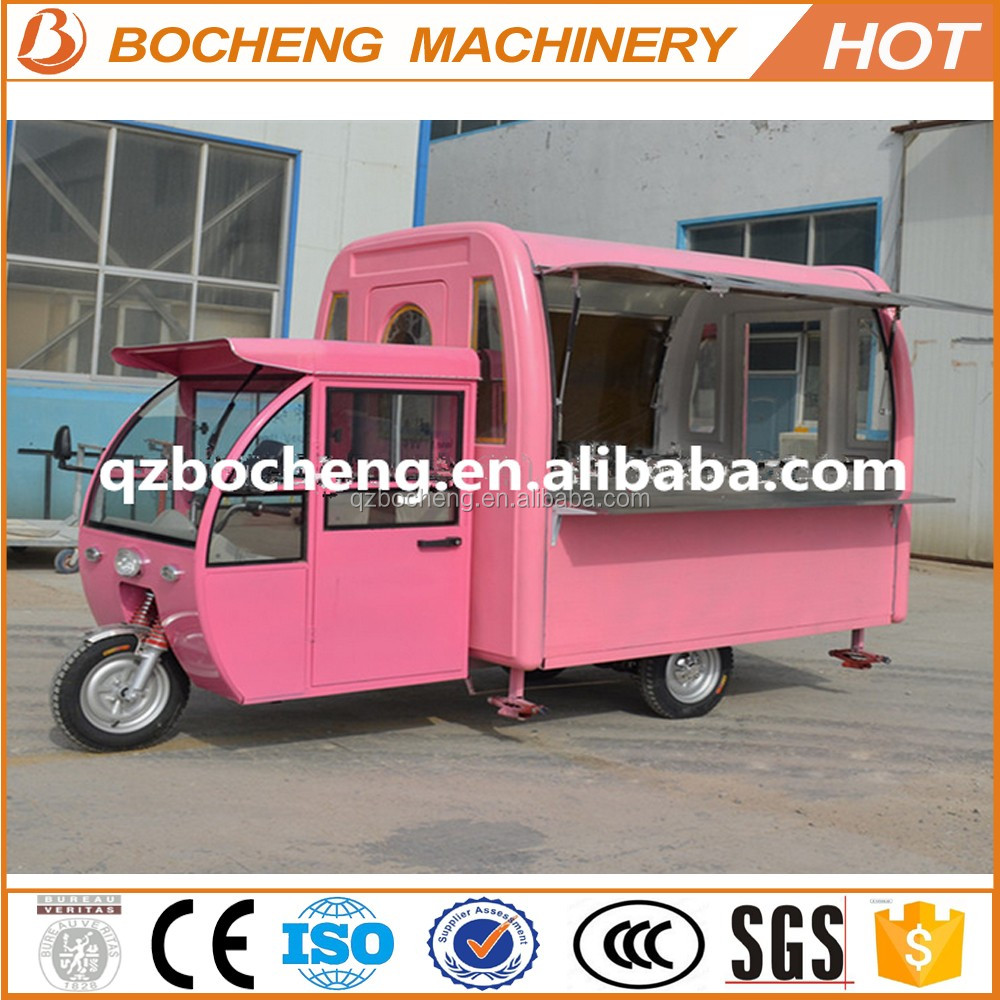 2016 Electric Tricycle Food Truck Small Food Truck For