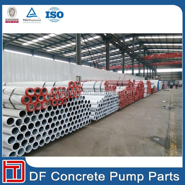 Schwing double wall concrete pump delivery tube