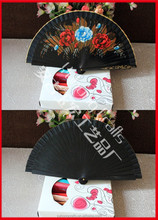 Painted Wooden Crafts Fan
