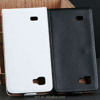 New Arrival Real Leather Cover Case For LG P880 Optimus 4X HD P880 Flip Cover Waterproof Open Up And Down RCD03260