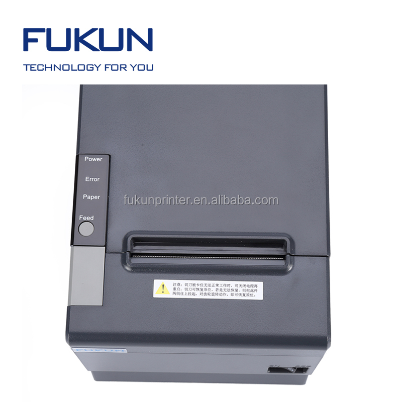 FUKUN FK--POS80-BH strong compatibility how to use thermal receipt printer for Full range of popular operating system