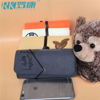 eco-friendly wool felt mobile phone case with custom logo