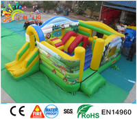 Guangzhou Inflatable Toys ,Animal of King Jumping Castle For Children Games