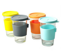 New Cute Anti-dust Silicone Glass Cup Cover Coffee Mug lid silicone cup cover