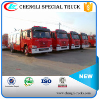 SINO HOWO 4*2 2000 gallon Emergency Fire Fighting Truck Left Hand Drive