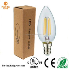 New Germany bulbs 4W E26 E27 E14 B22 filament dimmable candle/360 degree clear led globe