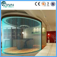 Indoor Decorative glass water fountain