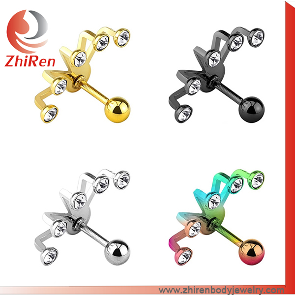 Short Delivery Time ear body piercing Tragus piercing Jewelry