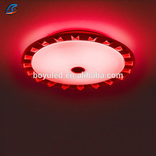Multifunctional 36W Dimmable bluetooth Remote Control Smart Music Lighting led modern ceiling light lamp