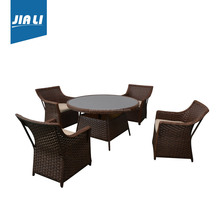 Professional mould design factory directly poly rattan garden furniture