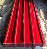 Low price color coated Corrugated Steel Plate/zinc aluminum roofing sheet