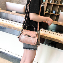 Cheap Korea Girls <strong>Fashion</strong> Long Strap Leather Shoulder Handbags