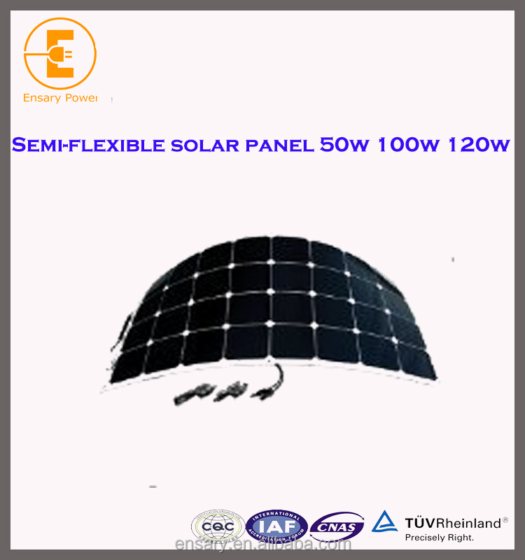 cheapest sun power semi flexible solar panel 300w Hot sale and high effective china