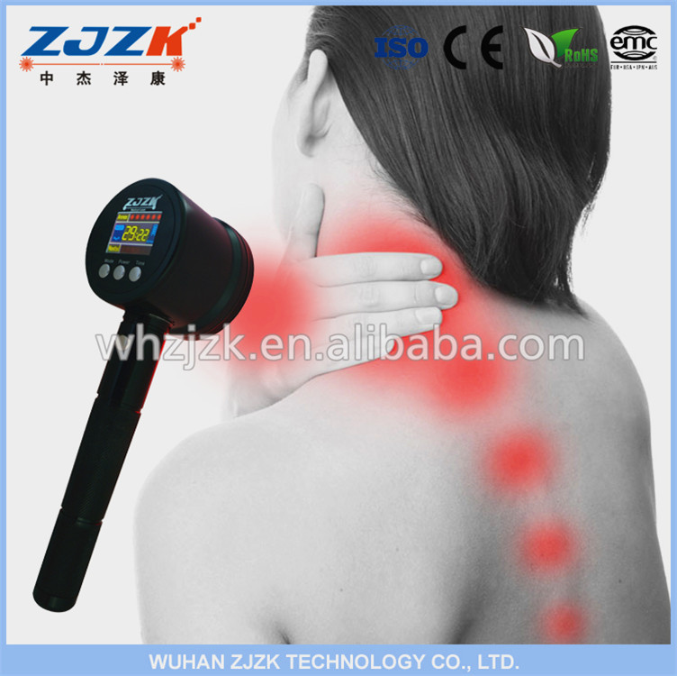 Hand Held Cold Laser Device Help With Lower Back Pain Treatment For Aching Knees
