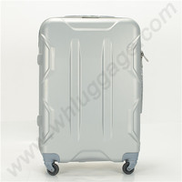 Silver Cabin Size Wheeled Luggage