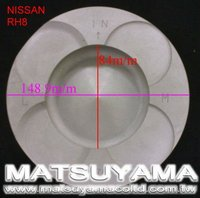 Piston for Nissan RH8
