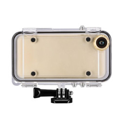 170 Degrees Wide Angle Lens Ultra Clear Transparent Extreme Sports Waterproof Case for iPhone 6 6s