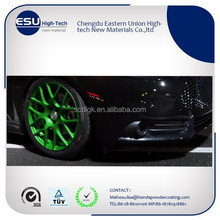 Decorate Green Powder Coating Paint On Wheels