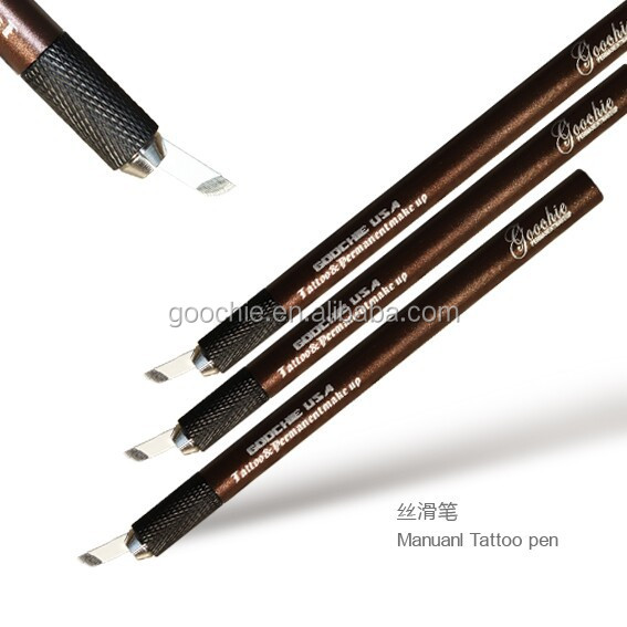 Permanent Manual Tattoo Eyebrow Makeup Blade Pen with CE certification