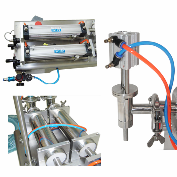 High accuracy double heads Liquid filling machine GFA-2Y-500