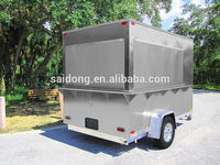 New model mobile food van High quality mobile food van mobile food van for sale