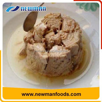 Canned bonito tuna chunk in sunflower oil china canned tuna fish 185g x 48