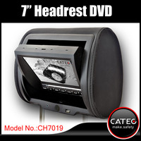 7 inch car seatback dvd player for headrest mounted