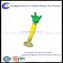 plastic ballpoint pen bobble head pen promotional pen
