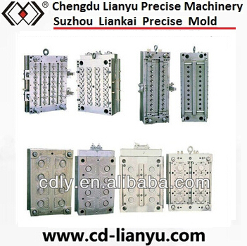 Multi Cavities PET Preform Mould with Hot Runner