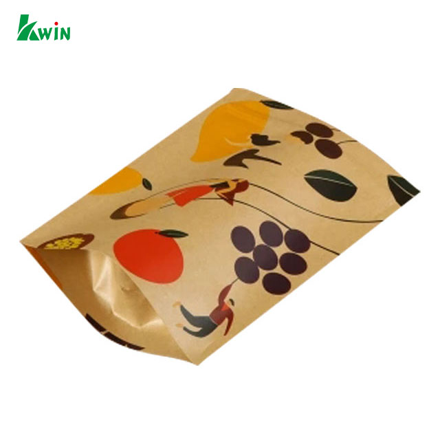 Color Small Foil Lined Drip Coffee Filter Kraft Brown Paper Tea Packaging Bag For Tea
